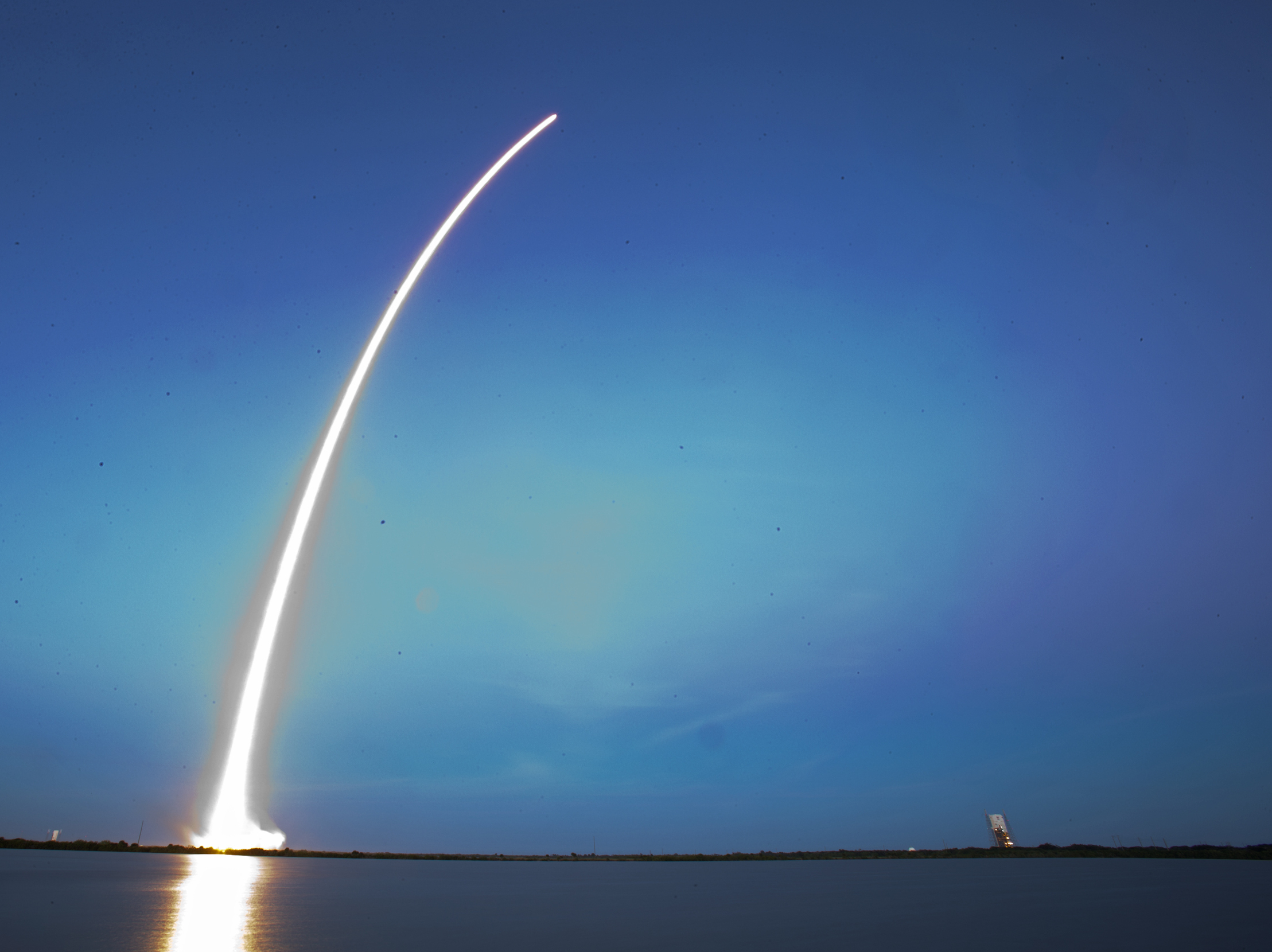 SpaceX Launches First Major Communications Satellite ...