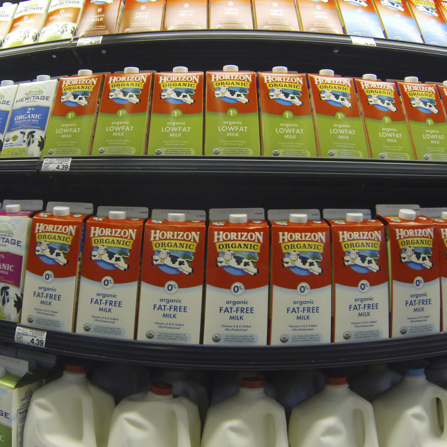 Sticker shock in the dairy aisle? Milk prices could spike big time in 2014 if Congress fails to reach a deal on a new farm bill.
