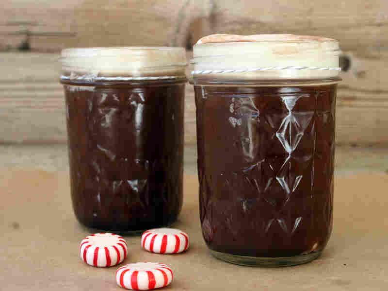 Mint Julep Hot Chocolate