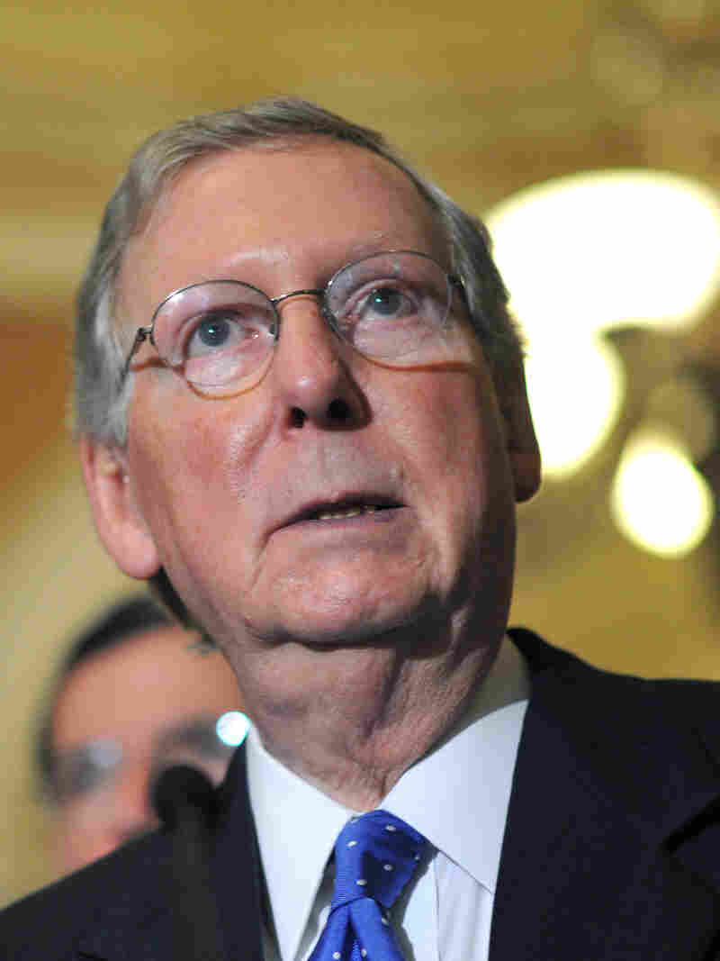 Senate Minority Leader Mitch McConnell, R-Ky., on Capitol Hill on Sept. 24.