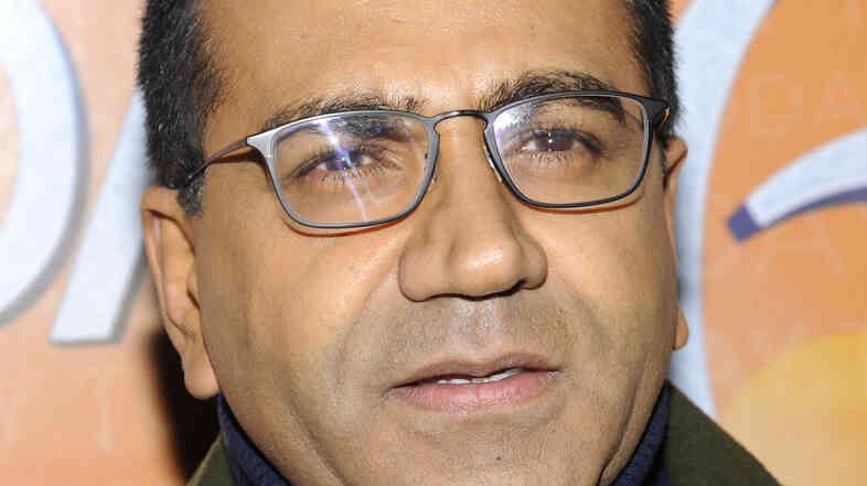 Martin Bashir attends the Today show's 60th anniversary celebration, in January 2012.