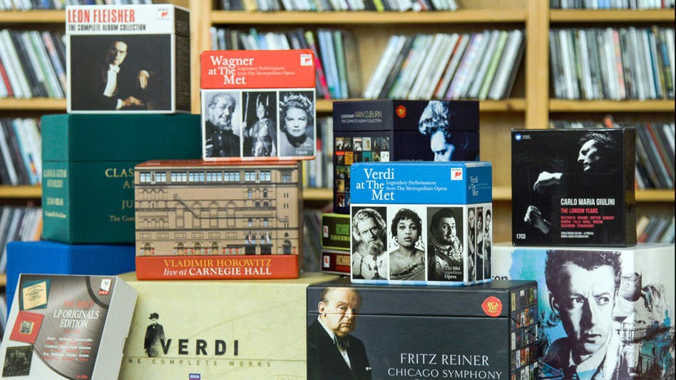 It was a big year for extravagant classical box sets. (NPR)