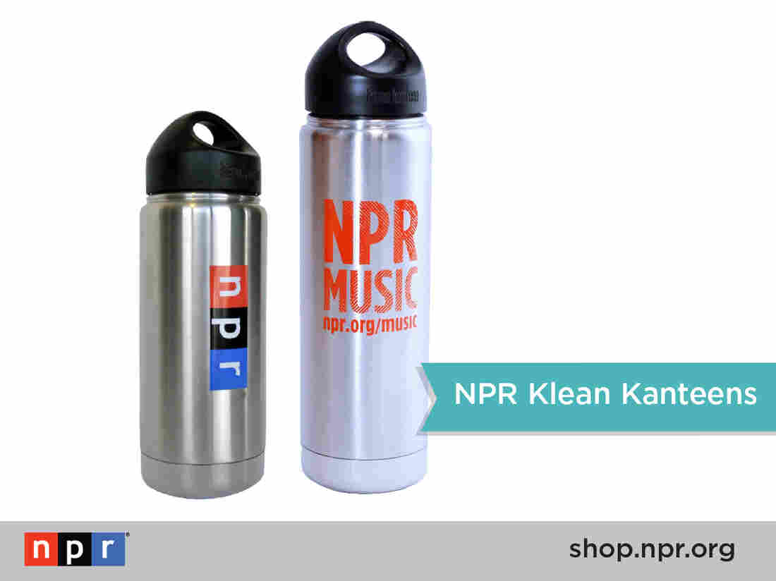NPR and NPR Music Klean Kanteens are available in the NPR Shop: shop.npr.org