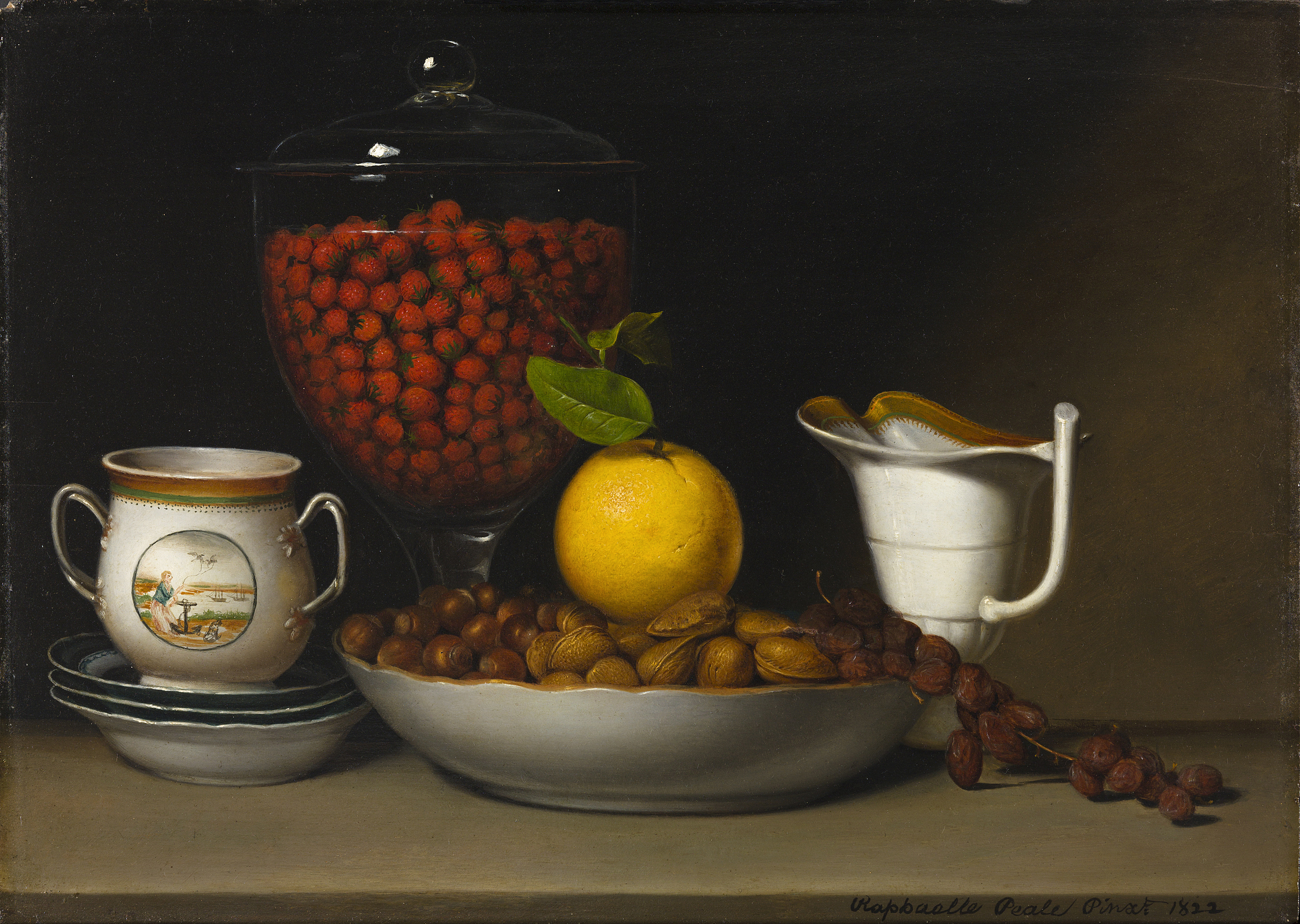 Eye candy for today raphaelle peale s strawberries for Art and appetite american painting culture and cuisine