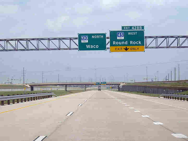 Even an 85 mph highway can 39 t fix austin 39 s traffic tangle npr for How far is waco texas from austin texas