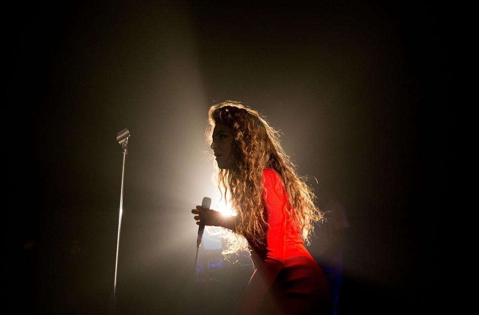 Lorde performs in Sydney, Australia, in October.