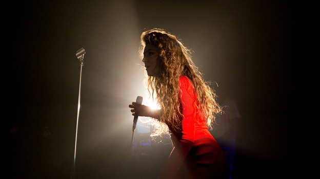 Lorde performs in Sydney, Australia, in October. (Getty Images)