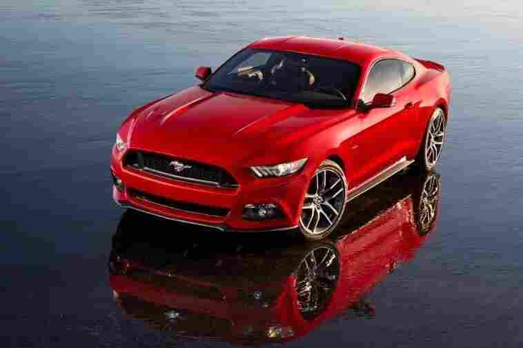 The 2015 Ford Mustang was revealed Thursday at events in New York, Los Angeles, Shanghai, Sydney, Barcelona and its hometown of Dearborn. It goes on sale next fall in North America and will arrive later in Europe and Asia.