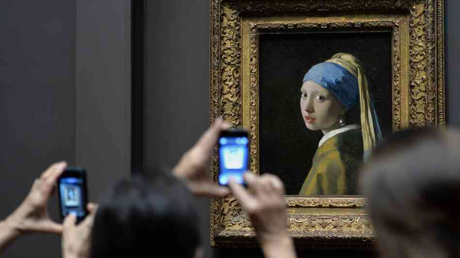 Johannes Vermeer's Girl with a Pearl Earring is one of 15 17th century Dutch paintings on view at New York's Frick Collection through early 2014.