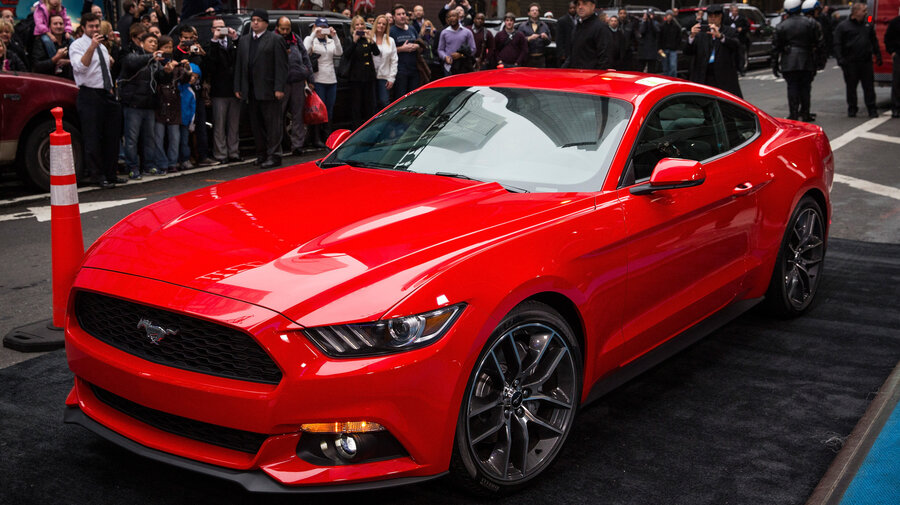 ford hopes new mustang will get the world's motor running : the two