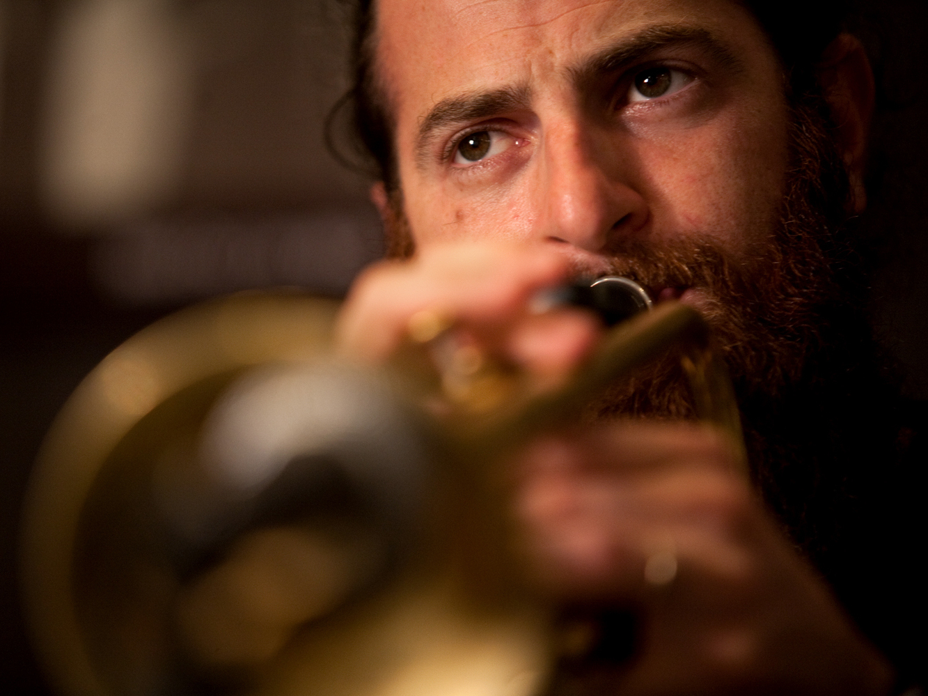 Trumpeter Avishai Cohen changed his flight itinerary to make the session.