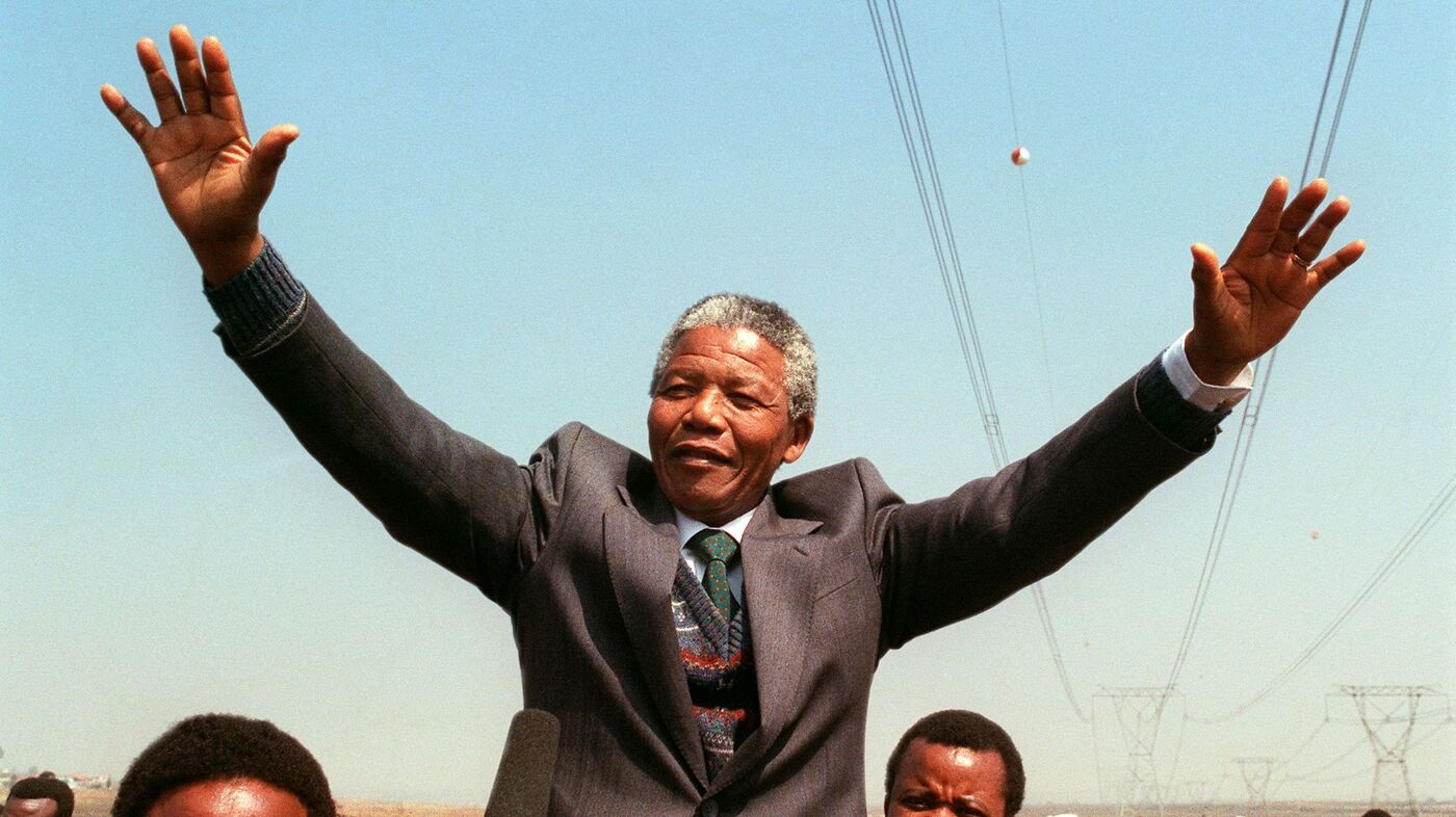 Listen Two Mandela Speeches That Made History The Two Way Npr