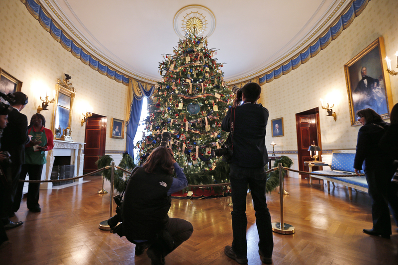 White House Invites All To 'Gather Around' A Holiday
