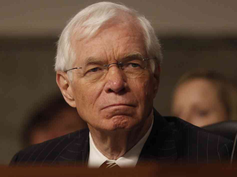 Sen. Thad Cochran, R-Miss., at a Senate Appropriations Committee hearing on June 12.