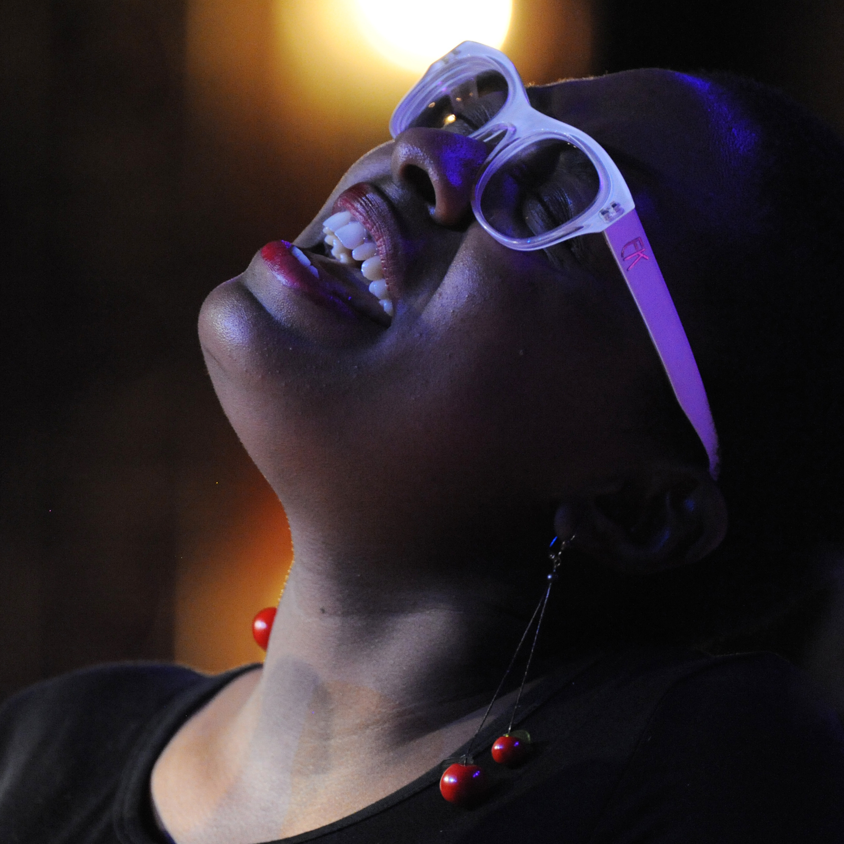 Miami-born Cécile McLorin Salvant learned about improvisation and sang with her first band after moving to France in 200