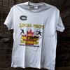 "A T-shirt for sale at Gikombo Market in Nairobi, Kenya. The shirt reads ""Local Pro's Indoor Ball Hockey St. Catharines."""