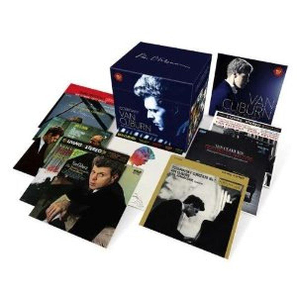 Van Cliburn: The Complete Album Collection.