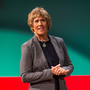 Record-breaking long-distance swimmer Diana Nyad speaks at the TEDWomen conference in San Francisco on Thursday.