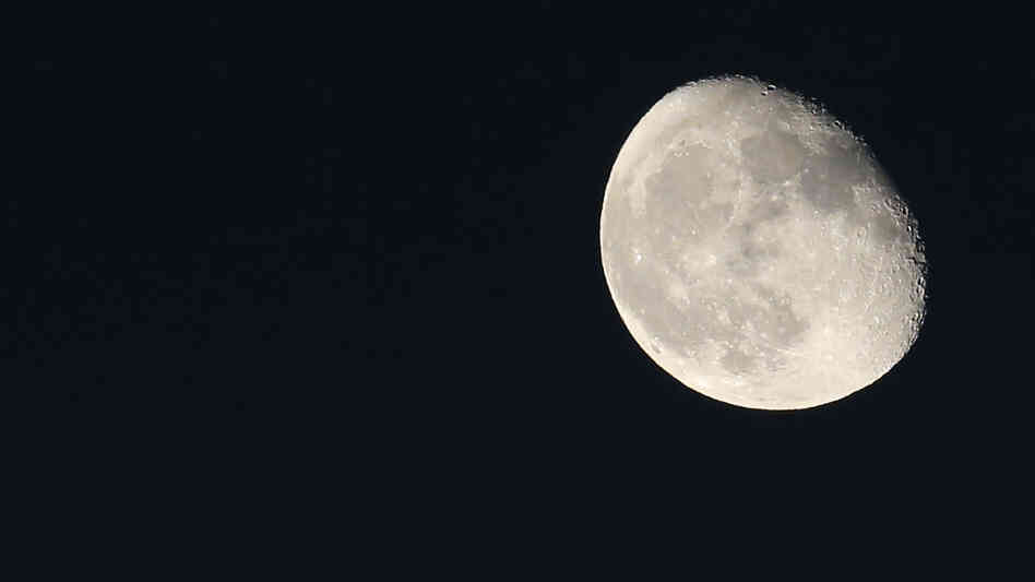 The moon on Oct. 22.