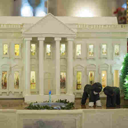 White House Invites All To 'Gather Around' A Holiday Tradition