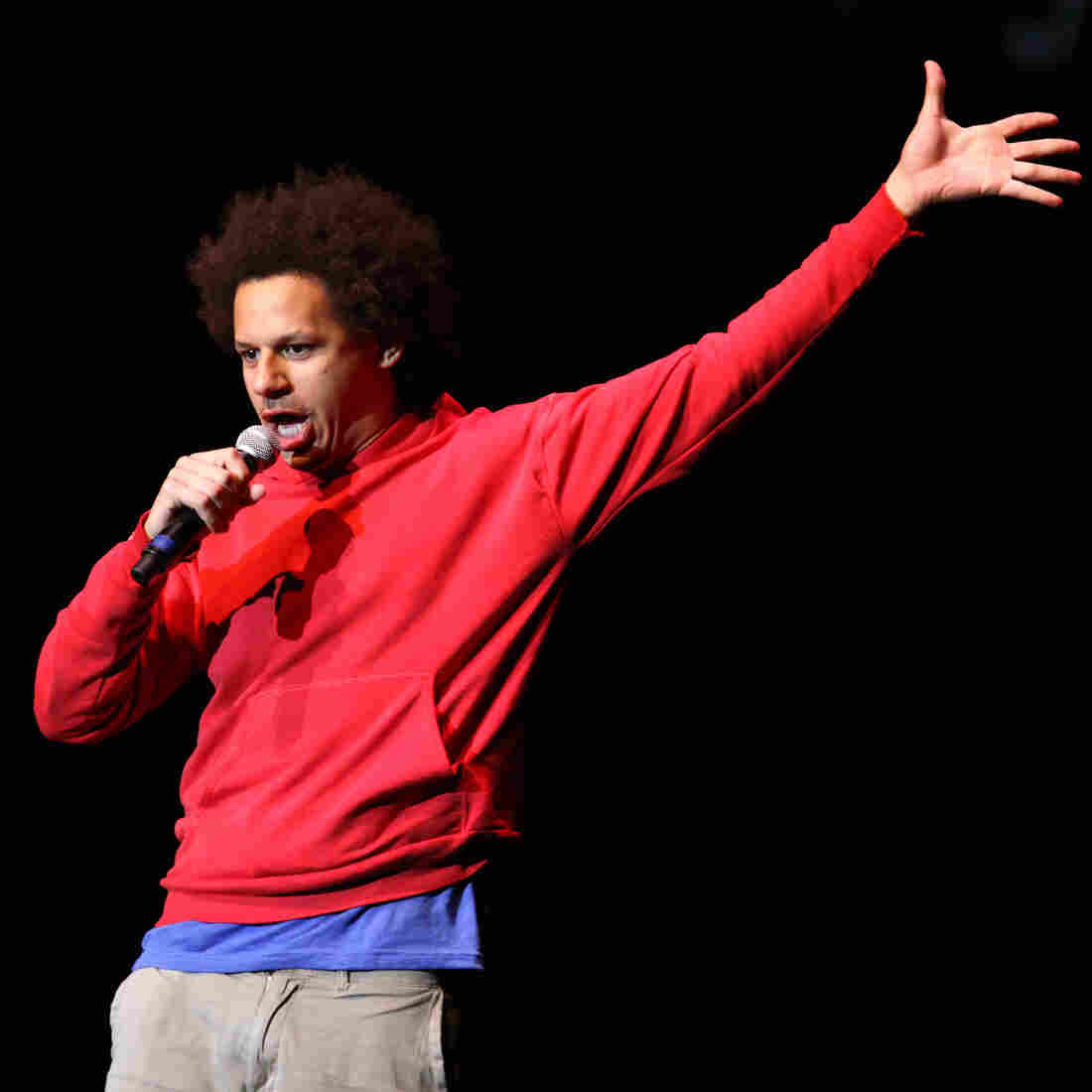 The Intended Madness Of Comic Eric Andre's 'Anti-Talk Show'