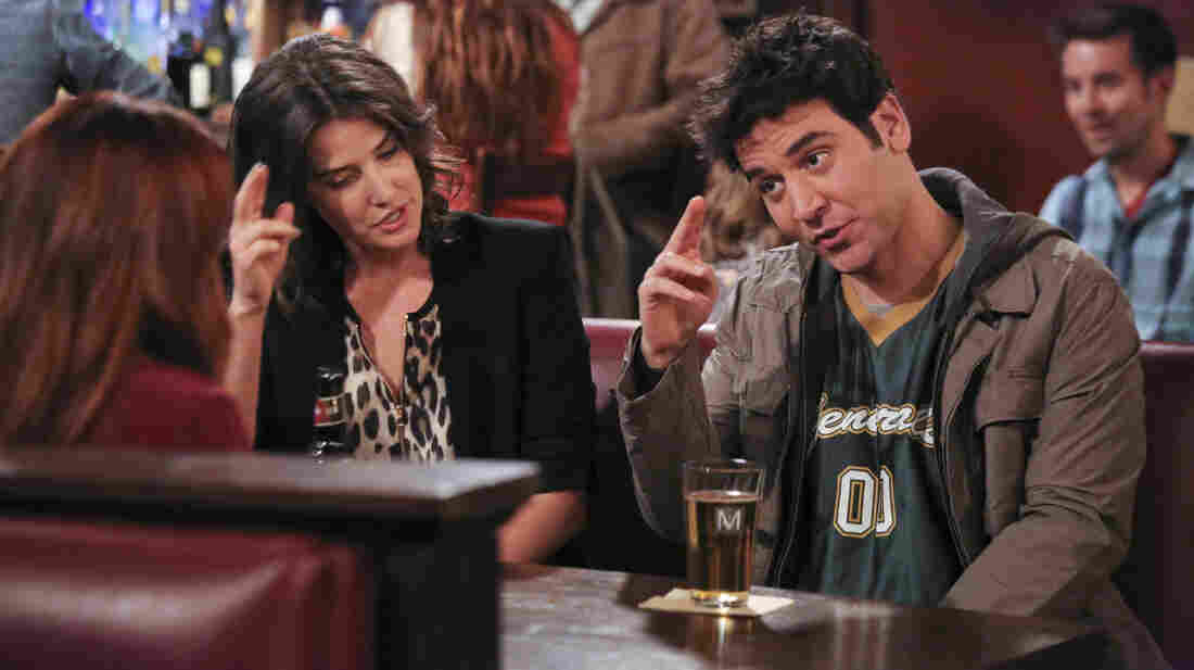 Robin (Cobie Smulders) and Ted (Josh Radnor) in a recent How I Met Your Mother episode.