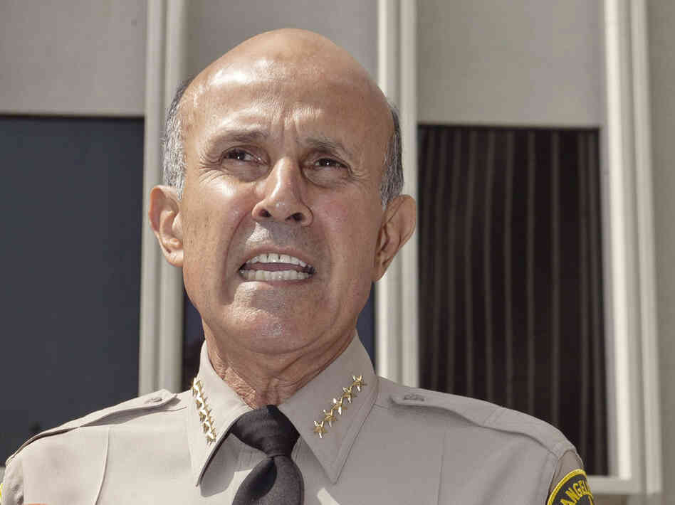 Los Angeles County Sheriff Lee Baca in 2011