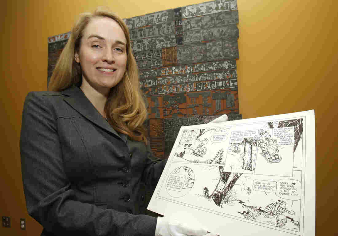 Curator Jenny Robb is in charge of the Billy Ireland Cartoon Library and Museum's vast collection of everything from Calvin and Hobbes to Superman.