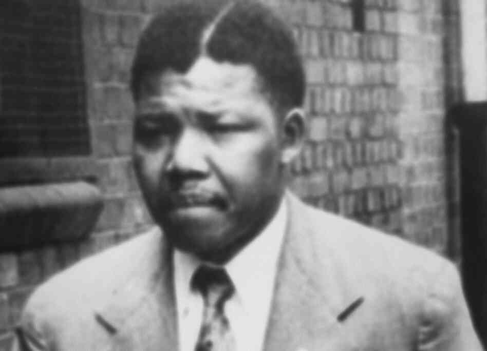 A file photo dated 1961 of South African anti-apartheid leader and African National Congress (ANC) member Nelson Mandela.