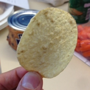 It can be hard to tell the difference between Pecan Pie Pringle and Dirty Pringle.