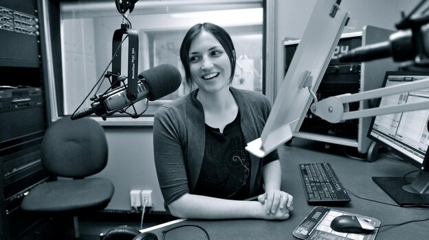 Cindy Howes, host of Morning Mix on WYEP in Pittsburgh.