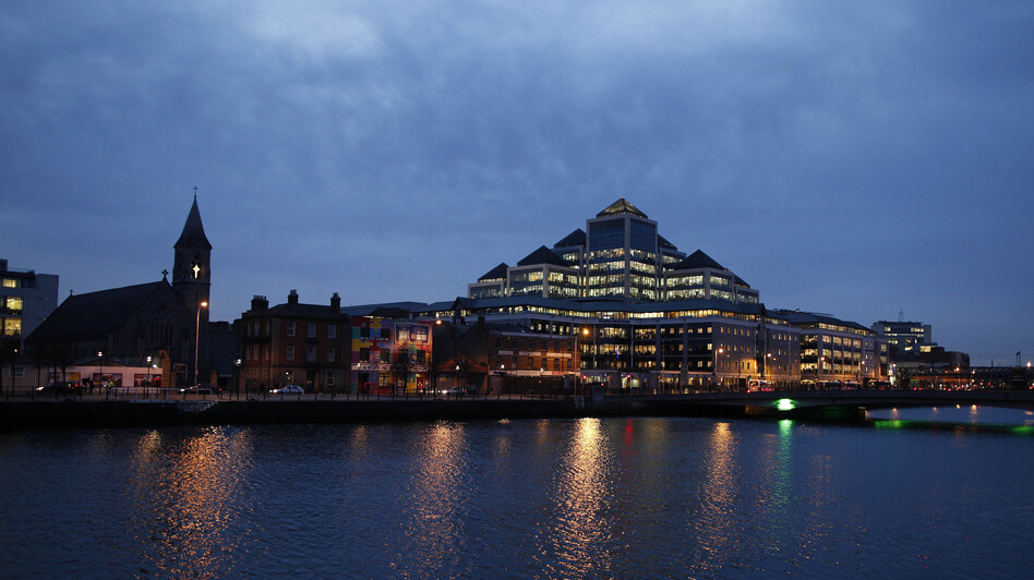 Tech companies around the world have set up shop in the financial district in Dublin, Ireland.