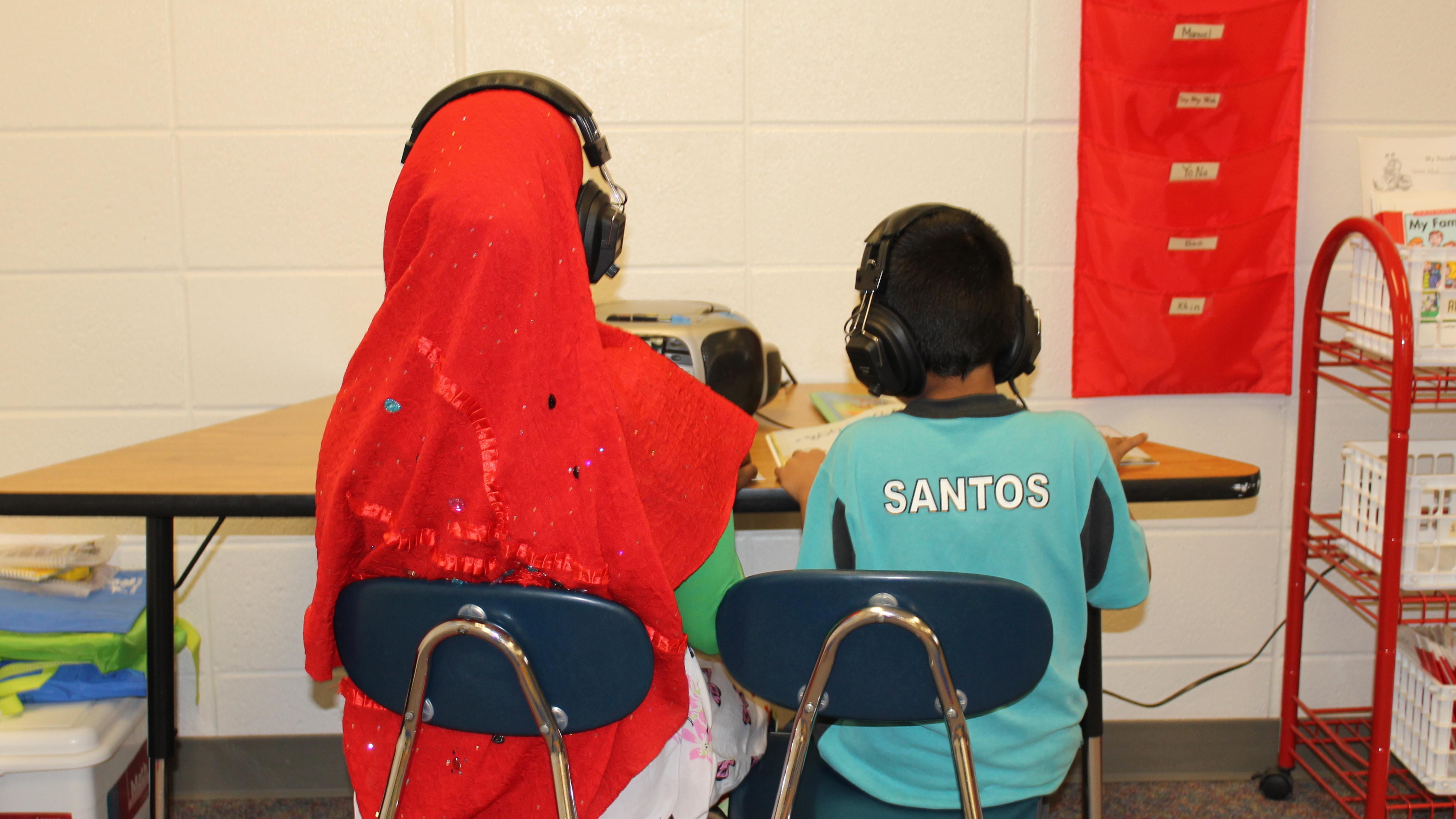 Mexican Elementary School Girls