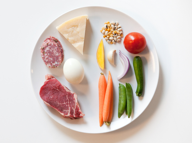 To figure out how diet influences the microbiome, scientists put volunteers on two extreme diets: one that included only meat, egg and cheese and one that contained only grains, vegetables and legumes.