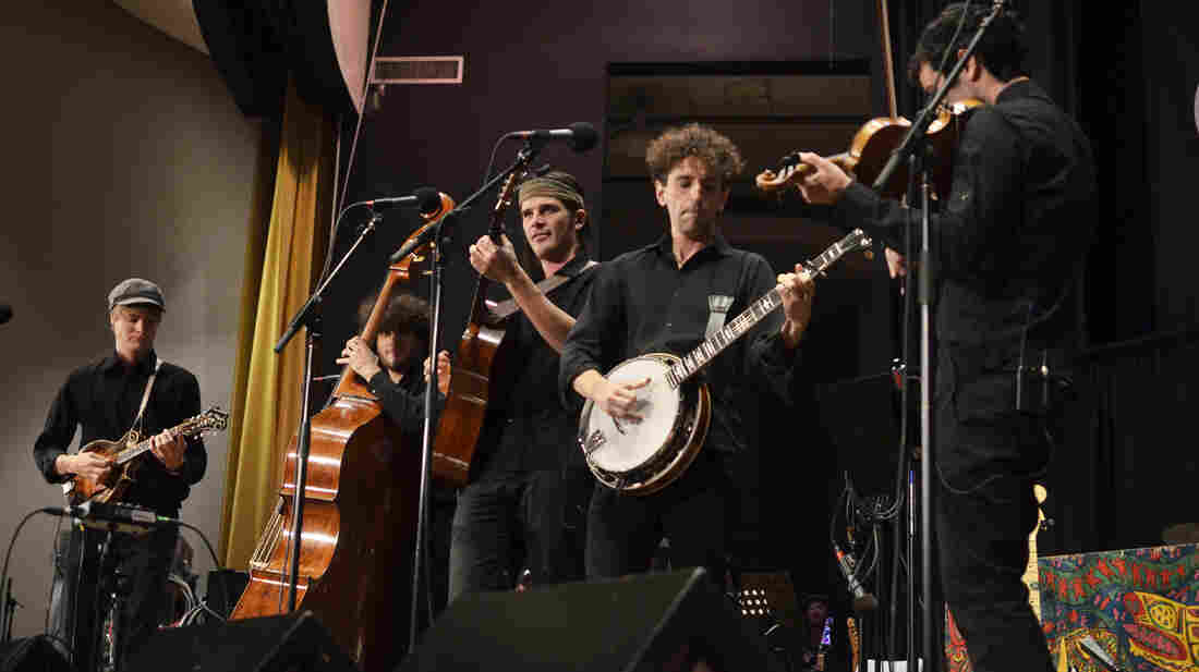 The Deadly Gentlemen performing live on Mountain Stage.