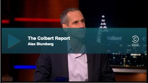 Alex Blumberg on Colbert