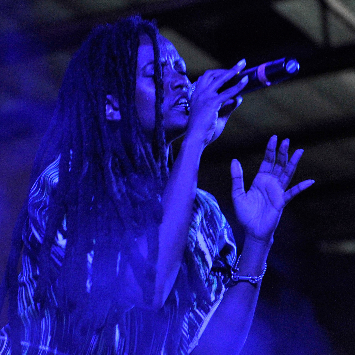 Kelela performing in Los Angeles in October.