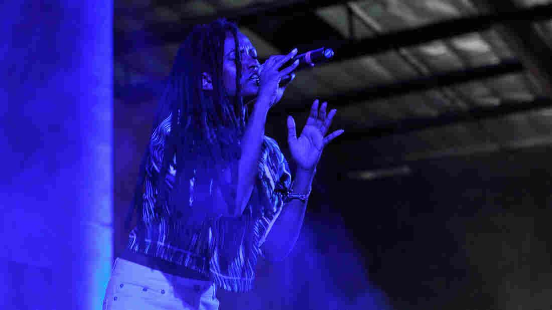 Kelela performing in Los Angeles in October.