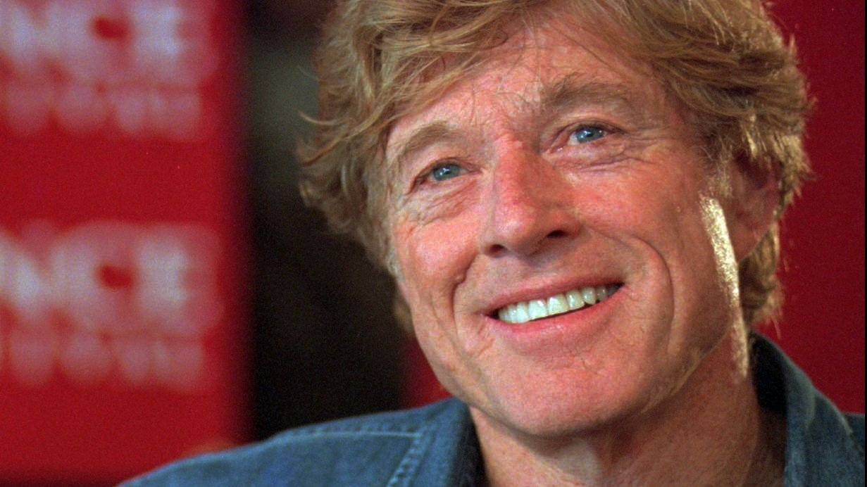 Redford speak sat the Sundance Institute in Park City, Utah, in 1997. He founded the Sundance Film Festival in 1978.