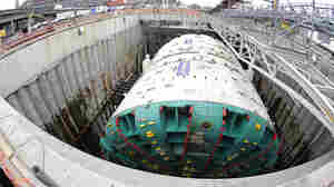 What's Blocking Bertha, Seattle's 5-Story Tunneling Machine?