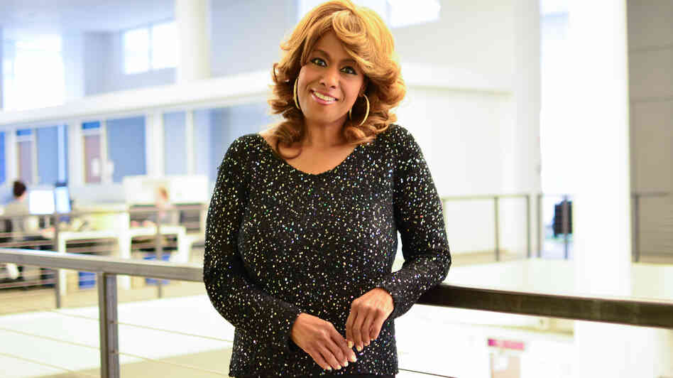 Jennifer Holliday at NPR headquarters in Washington, D.C.