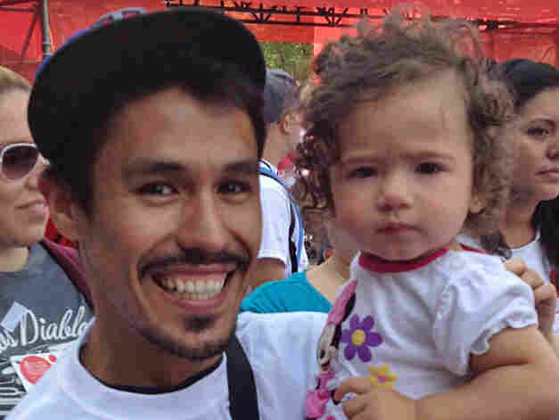 """Francisco Vasquez says his niece, Ellie, and his sister's battle with cancer have transformed his life """"forever."""""""