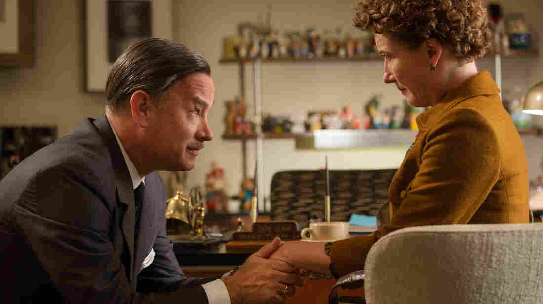 Chronicling the behind-the-scenes drama of the Mary Poppins film, Saving Mr. Banks stars Tom Hanks and Emma Thompson as Walt Disney and author P.L. Travers.