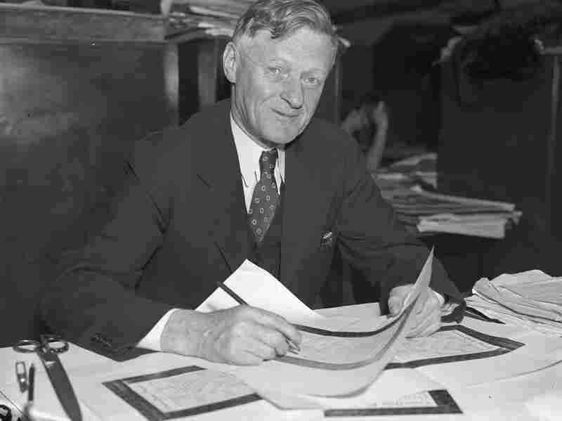 Word-Cross creator, 1938.