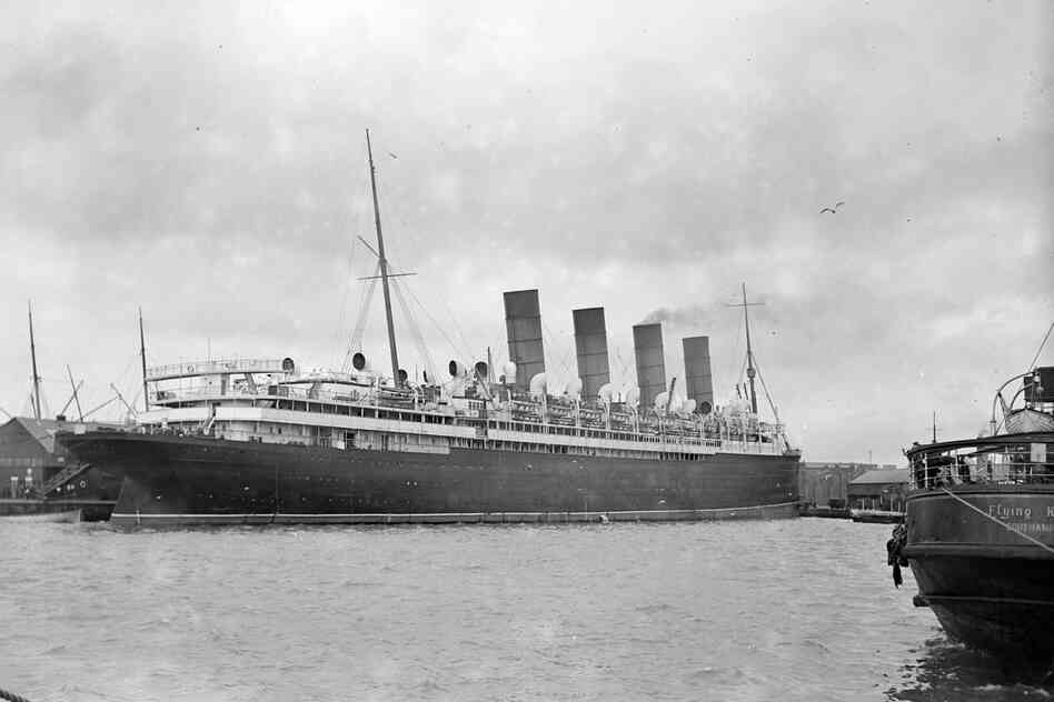 Cunard's legendary trans-Atlantic liner, the Mauretania (shown here circa 1925), was built on the Tyne — which shares a name with one of the 31 sea areas covered by BBC's beloved Shipping Forecast bulletin.