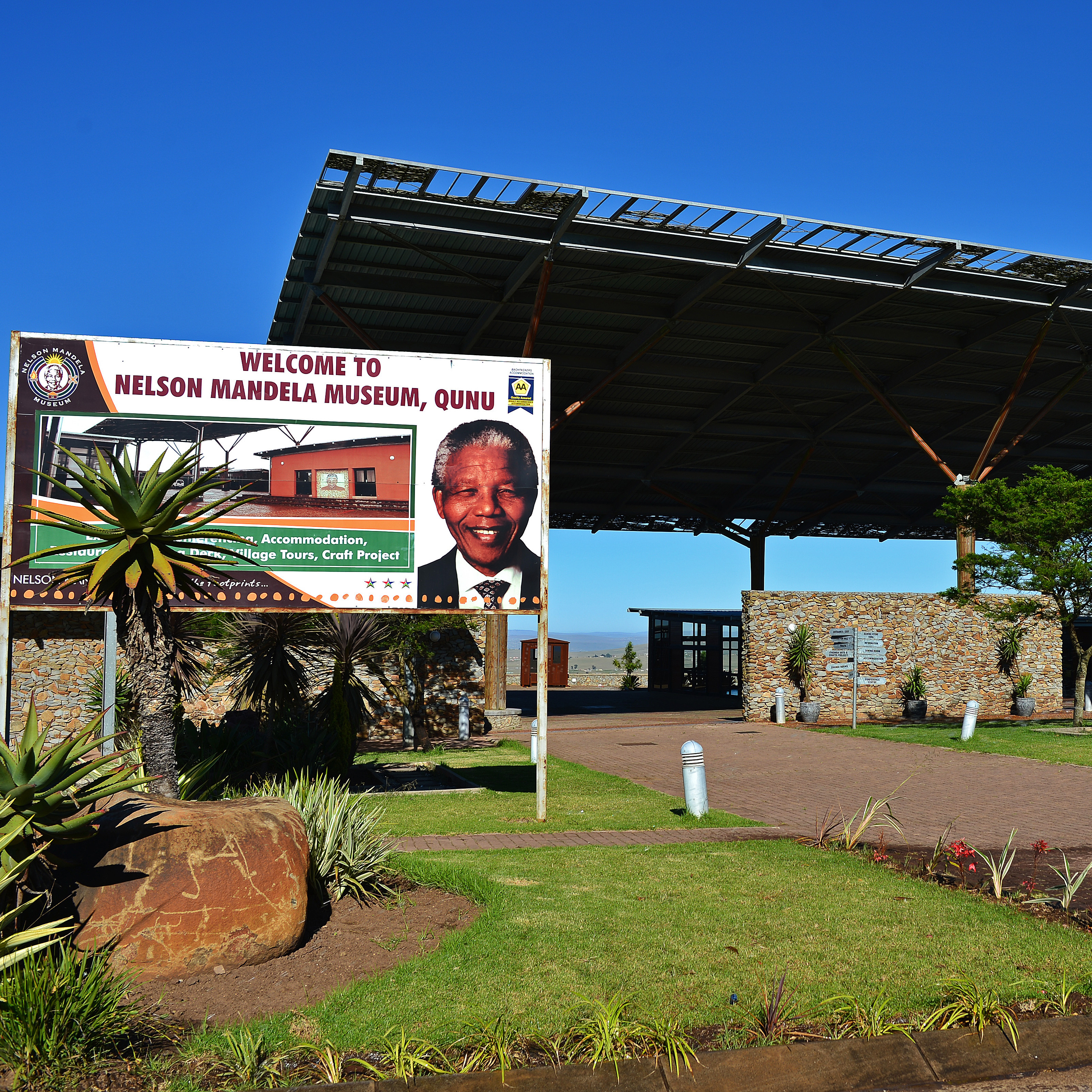 The small Mandela museum, built in 2010, is one of only a handful of clues that the beloved leader hailed from Qunu.