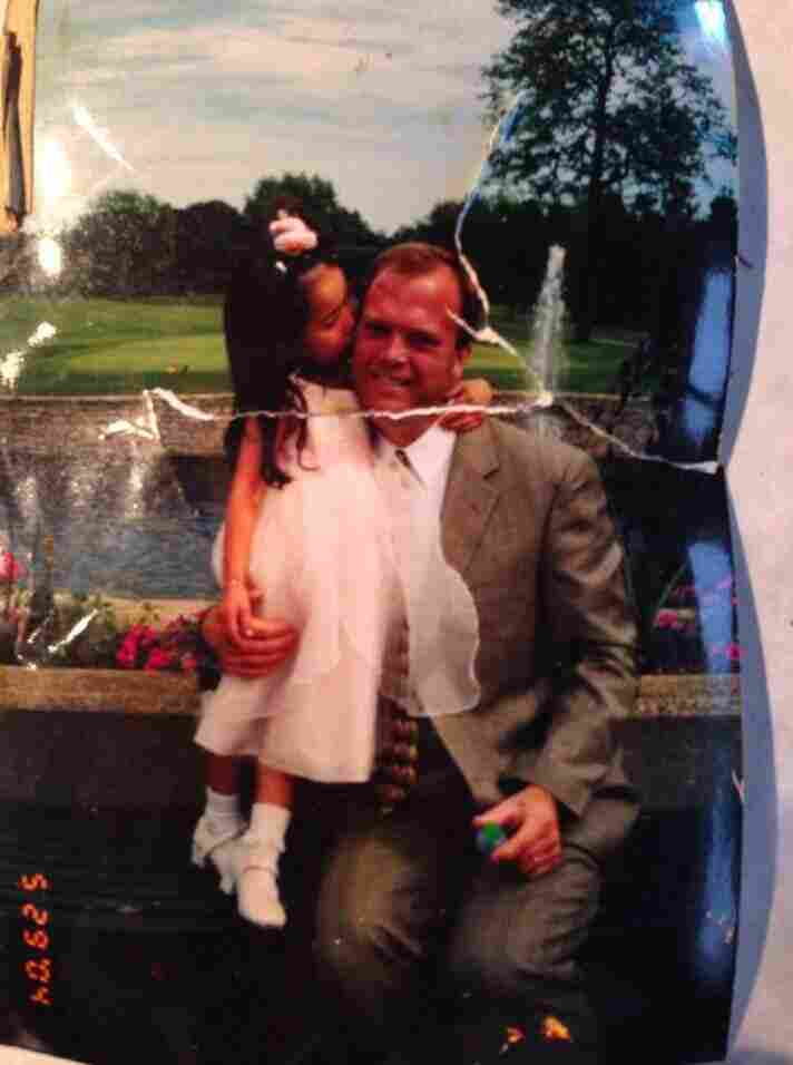 Darin Repp found the photo of Barbara Walsh's husband and daughter. They were able to connect on a Facebook page dedicated to returning lost photos.