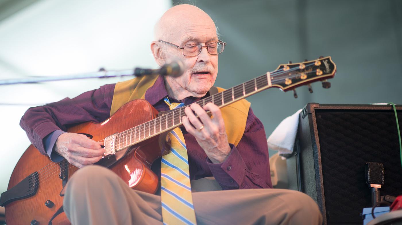 Fresh Air Remembers Jazz Guitarist Jim Hall