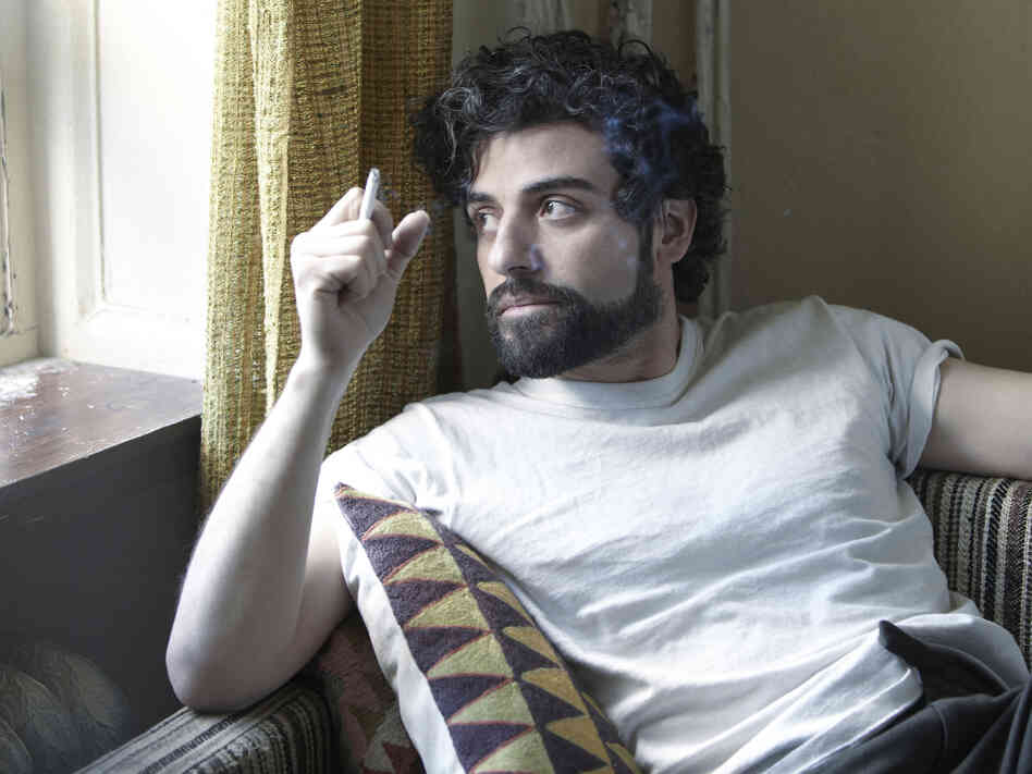 Oscar Isaac as the titular character in Joel and Ethan Coen's Inside Llewyn Davis.