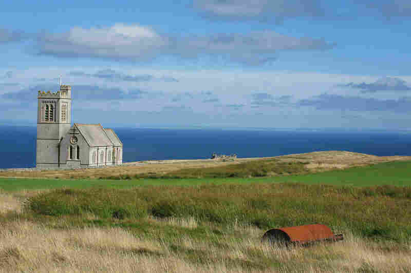 Lundy Island is off the coast of Devon in southwest England. It's a block of granite that's just 3 miles long and half a mile wide.